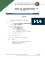 Informe Canteras, Fuentes de Agua y Botaderos (Oropesa - Tipon)