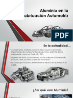 Expo Aluminio en La Fabricación Automotriz