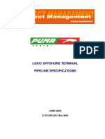 Leki Pipeline Specifications