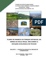 Plano de Manejo parque estadual serra do rola moça