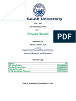FINANCE_DERIVATIVES Project Report