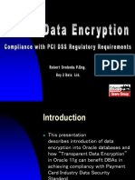 Oracle Data Encryption