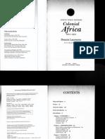 Laumann (2013) Colonial Africa (1884-1994) 1