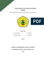 Paper Proses Pembuatan Styrene Butadiene Rubber