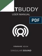 SingularSound BeatBuddy-User Manual