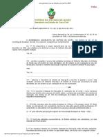 Lei 101 Goiás