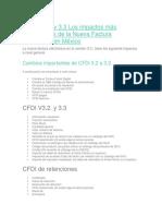 CFDI V3