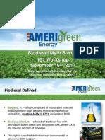 Biodiesel Fleet Myth Busting