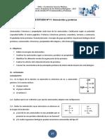 Guía de Estudio Nº 11 Aminoácidos y Proteínas