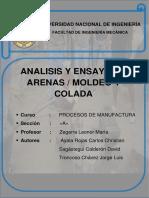 Primer Informe Proceso de Fundición-UNI