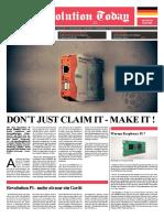 Revolution Pi Produktbroschuere