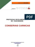 Protocolo Conservas Carnicas