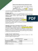 Modelo de Contrato Asesoria de Tesis UDCH