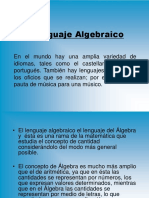 Ecuaciones Algebraicas Nieto