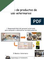 Manejo de Productos de Uso Veterinarios