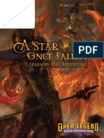 A Star Once Fallen Open Legend Intro Adventure