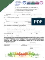 Procedura Deconectare Apartament 2017