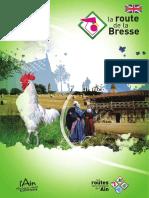 La route de la Bresse (Ain)