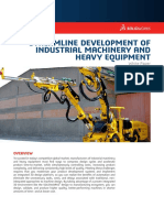 Streamlining the Design of Industrial Machinery and Heavy Equipment