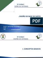 base de datos Diseno  de sistemas BD