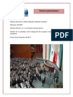 A1C3 Integración Del Congreso Mexicano - Diputados y Senadores