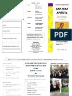 Instituto Diocesano San Juan Apostol - Publicidad 2017-2018b