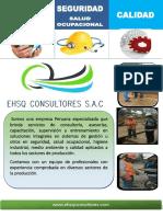 Brochure Ehsq Consultores