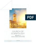 Scientology Tax Guide