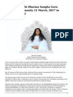 Enseñanzas Maitriya Guru Maha Sambodhi Dharma Sangha en Ingles