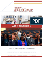 UDC Law Clinic Highlights Fall 2017