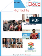 Current Affairs Study PDF - October 2017 by AffairsCloud