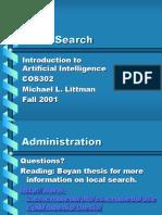 Local Search (Littman Fall)