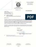 Notice of Sufficiency - Cannizzaro Recall Petition