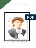 Simone Bodève Biographie