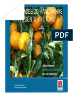 Mandarina Variedades