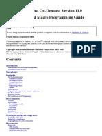 Host on-Demand Macro Programming Guide