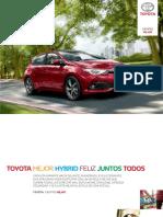 Catalogo Toyota Auris Febrero 2017