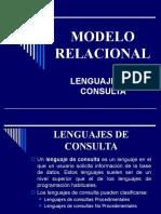 Algebra Relacional 2010