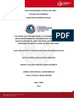 La Cultura Emprendedora en El Peru