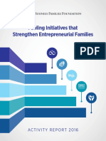 BFF Activity Report 2016