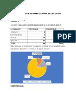 Ejemplo de Tabulacion de Las Encuestas