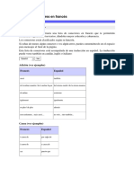 Lista de Conectores en Francés