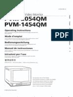 Trinitron Pvm2054qm