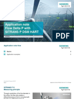 Application Note Flow SITRANS P DSIII HART