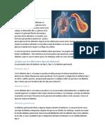 Diabetes (Informe)