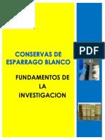 Conserva de Esparrago Blanco