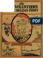 The Boy Volunteers on the Belgian Front by Kenneth Ward