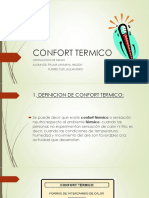 CONFORT TERMICO - UNIVERSIDAD NACIONAL DE SAN AGUSTIN DE AREQUIPA