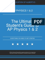 The Ultimate Student's Guide to AP Physics 1 2