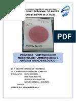 Informe de Análisis Microbiológico